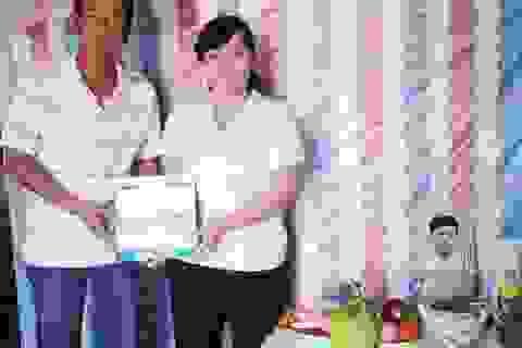 Gia đình cháu Trần Chí Khang sẽ được hỗ trợ xây nhà mới
