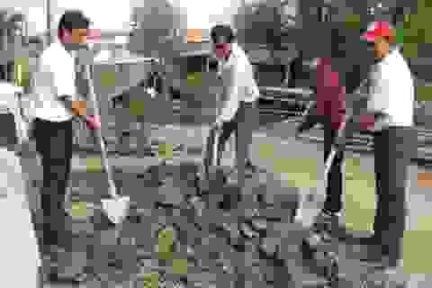 Khởi công xây nhà mới cho gia đình cháu Trần Chí Khang