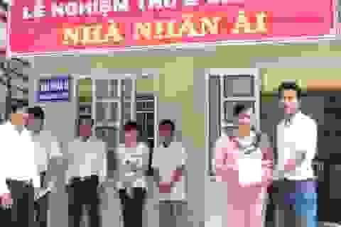 Khánh thành nhà Nhân ái cho gia đình cháu Trần Chí Khang