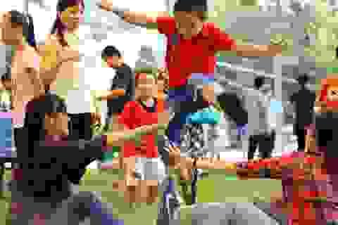 Trò chơi dân gian hút bạn trẻ dịp nghỉ lễ