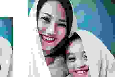 Bộ ảnh ngập tràn hạnh phúc mẹ đơn thân và con trai