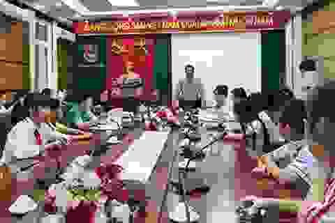 320 thiếu nhi tham dự Đại hội Cháu ngoan Bác Hồ - Chủ nhân Thăng Long