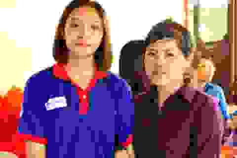 Nữ sinh làm thuê kiếm 500 ngàn đồng lên Hà Nội thi THPT quốc gia