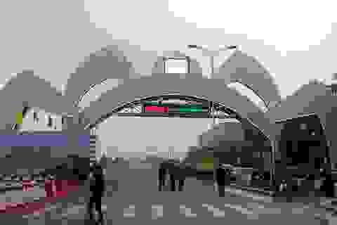 Khánh thành cổng chào đường lên quê hương Bác Hồ