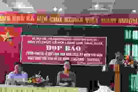 Lễ hội làng Sen phải mang đậm bản sắc văn hóa xứ Nghệ