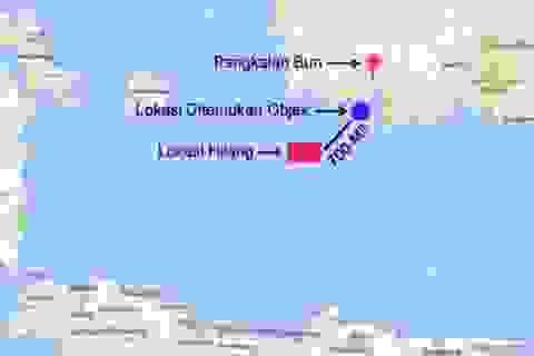 Phát hiện vật thể nghi vấn trong vùng tìm kiếm máy bay AirAsia