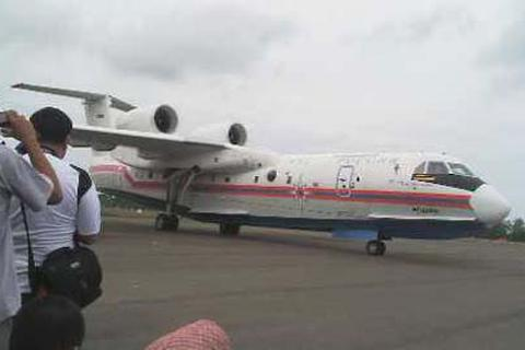 Thủy phi cơ Nga đến Indonesia tìm hộp đen QZ8501