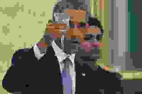 Ấn Độ mở quốc yến thết đãi vợ chồng Obama