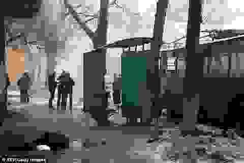 Cảnh tượng chết chóc rợn người tại vùng chiến sự Đông Ukraine