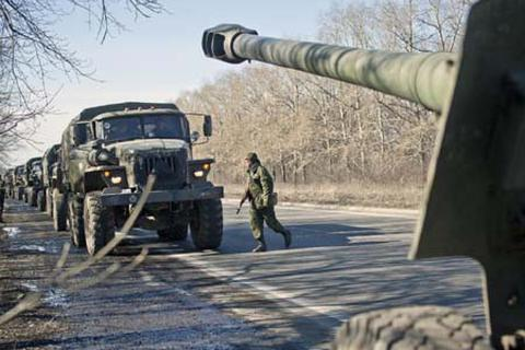 Phe ly khai Đông Ukraine tuyên bố rút quân theo thỏa thuận đình chiến