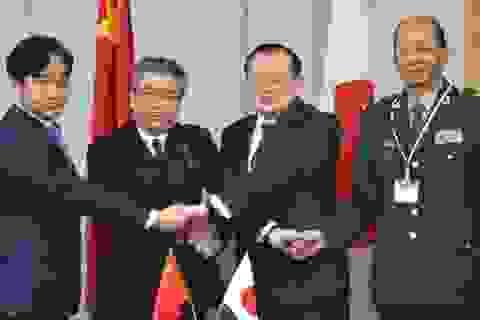 Trung - Nhật lần đầu đối thoại an ninh sau 4 năm