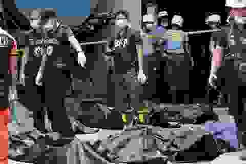 72 người chết trong vụ cháy xưởng giày ở thủ đô Philippines