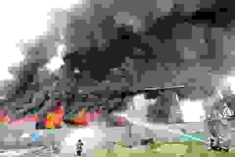 Cháy xưởng giày tại thủ đô Philippines, ít nhất 31 người chết