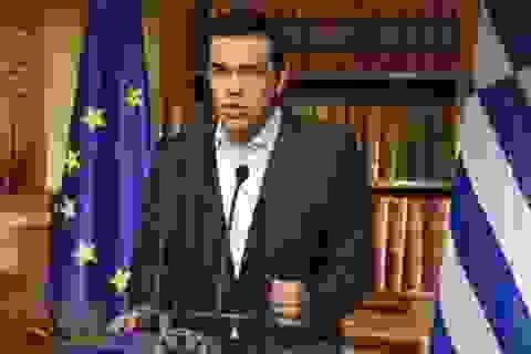 Châu Âu dừng đàm phán nợ với Hy Lạp, chờ trưng cầu dân ý