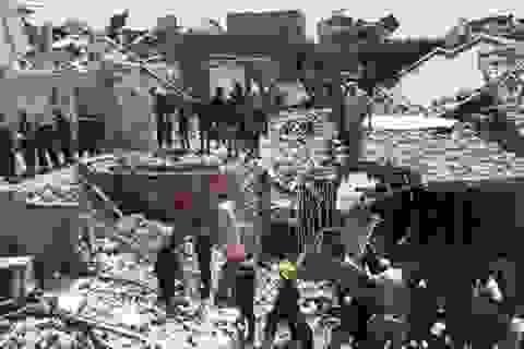 Chiến đấu cơ Iraq làm rơi bom xuống thủ đô, 8 người chết