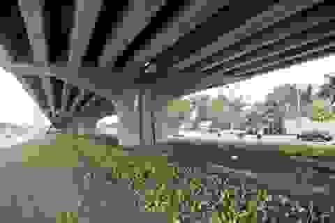 """Hà Nội """"bác"""" đề xuất lập bãi trông xe dưới đường trên cao"""