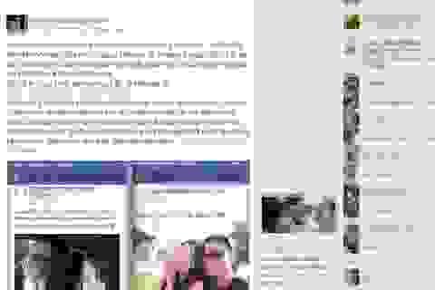 2014: Năm của những scandal ngoại tình ồn ào trên Facebook