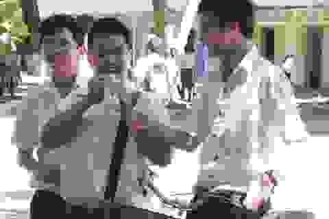 Bình Định: Đề thi Văn vào lớp 10 bàn về việc học đối phó