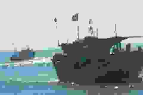 Đâm tàu cá rồi bỏ chạy: Tàu vận tải chấp nhận bồi thường