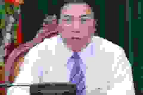 Ông Nguyễn Bá Thanh làm việc với lãnh đạo Bình Định