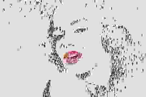 """Độc đáo nghệ thuật vẽ tranh bằng """"đám đông"""""""