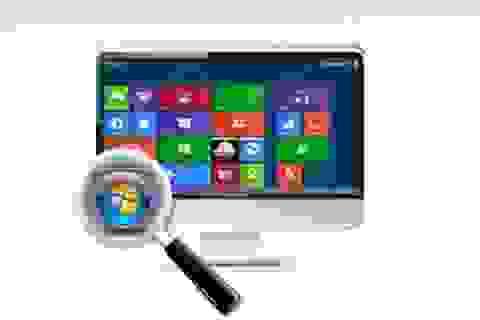 Nút bấm Start quen thuộc quay trở lại trong bản nâng cấp Windows 8.1