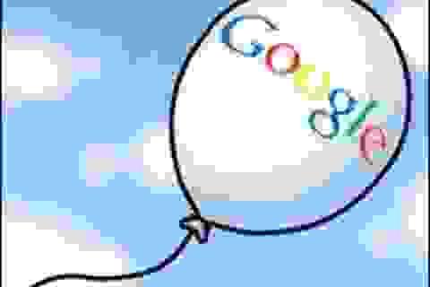 Google tham vọng phủ sóng Wifi toàn cầu bằng khinh khí cầu
