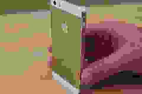 Khan hàng, iPhone 5S vàng được bán với giá 215 triệu đồng