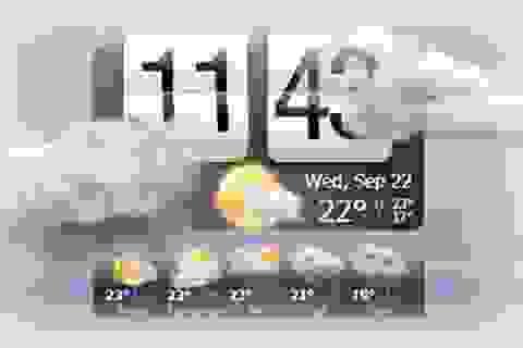 Phần mềm dự báo thời tiết với hiệu ứng động đẹp mắt cho Windows