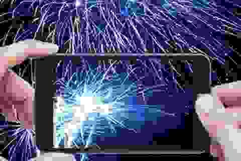"""""""Bắn pháo hoa"""" mừng Tết Giáp Ngọ trên smartphone"""