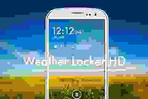 Mẹo hay giúp làm đẹp màn hình khóa trên smartphone