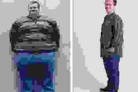 Chàng trai giảm 184 kg trọng lượng cơ thể sau 17 tháng