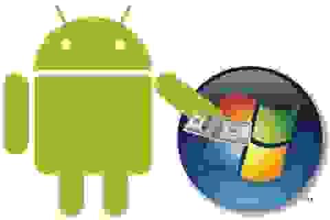 Microsoft lại làm giàu nhờ… Android