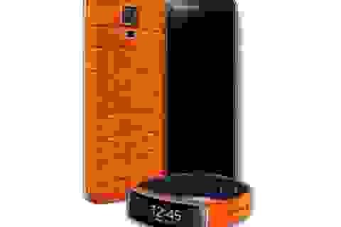 Galaxy S5, Galaxy Fit bọc da cá sấu sắp được bán tại Việt Nam