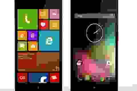 Smartphone chạy được cả Android lẫn Windows Phone chính thức trình làng