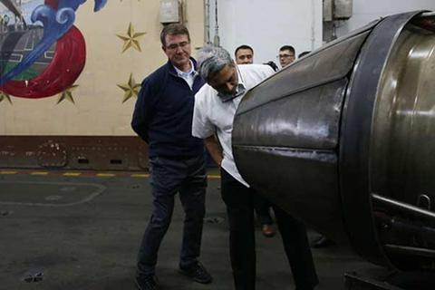 Mỹ-Ấn tăng cường hợp tác an ninh hàng hải và công nghệ quốc phòng