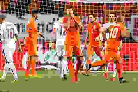"""Thua CH Séc, Hà Lan """"ngồi nhà"""" xem Euro 2016"""