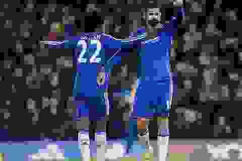 Diego Costa giúp Chelsea hạ gục Norwich