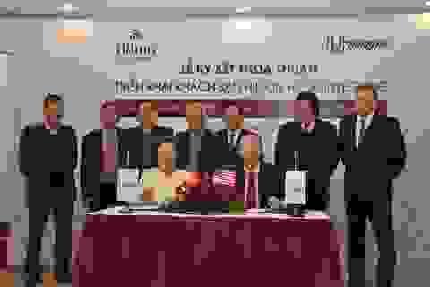 Khách sạn Thắng Lợi và Hilton Hanoi Westlake ký kết thoả thuận hợp tác