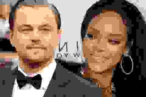 """Rihanna lại bị bắt gặp """"khóa môi"""" Leonardo DiCaprio"""
