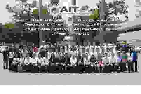 8 năm chương trình Thạc sĩ Quản lý dự án Xây dựng tại Việt Nam