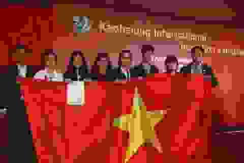 Việt Nam xuất sắc đoạt Huy chương vàng quốc tế về Sáng tạo Khoa học kỹ thuật