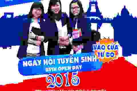 ĐH Việt - Pháp tổ chức Ngày hội tuyển sinh tại Huế và Đà Nẵng