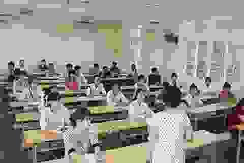 7 điểm/môn thi, thí sinh mới có cơ hội vào trường đại học tốp đầu