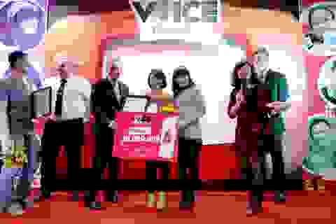 Nữ sinh ĐH Ngoại thương trở thành quán quân cuộc thi Voice Yourself