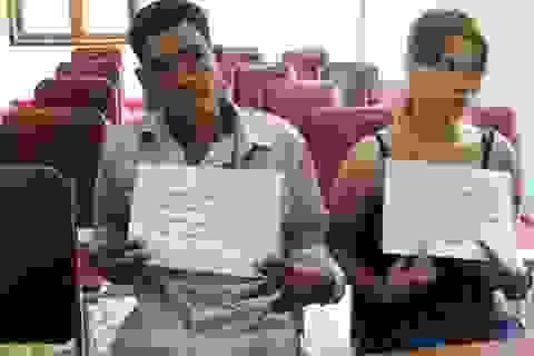 Bắt hai cha con lừa bán sơn nữ sang Trung Quốc