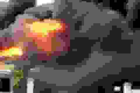 Cháy lớn tại khu công nghiệp Bắc Ninh, thiệt hại nhiều tỷ đồng