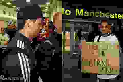 Chùm ảnh: Dàn sao Real Madrid đổ bộ xuống Manchester