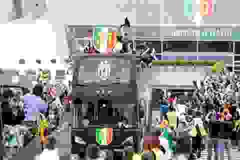"""Juventus vô địch sớm 3 vòng: Sắc """"trắng đen"""" che phủ Serie A"""