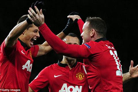 David Moyes không ngớt lời tán dương người hùng Rooney